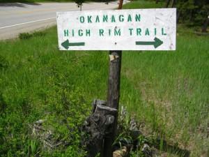 Choose Mission Creek Trail or Cardinal Creek Trail