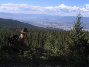 Grand View of Kelowna from the High Rim Trail
