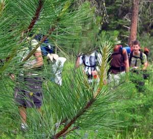 High Rim Trail in Kalamalka Lake Provincial Park