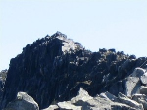 Abbot Mountain's Knifelike Ridge