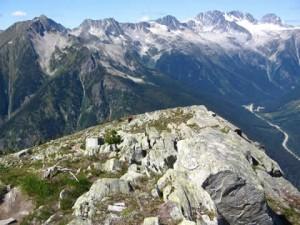 The top of Abbot Ridge