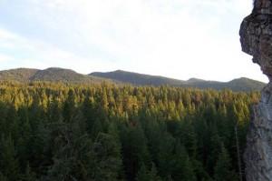Kelowna Crags view taken prior the 03 Firestorm