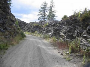 KVR Trail or Trans Canada Trail as it continues on after Lorna Trestle