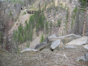 Myra Canyon Trestles and Tunnels