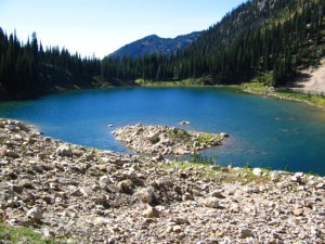 View of Pinnacle Lake taken from the East End.
