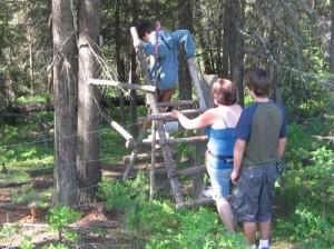 Mission Creek Trail Fence Crossing