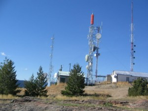 Blue Grouse Mountain Communication Towers