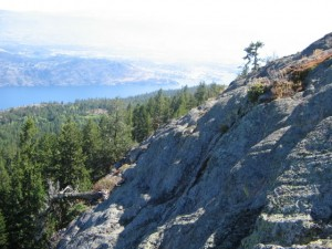 Blue Grouse Mountain Rock Bluffs