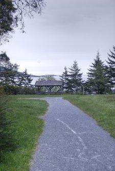 Easy hiking trail in East Sooke park