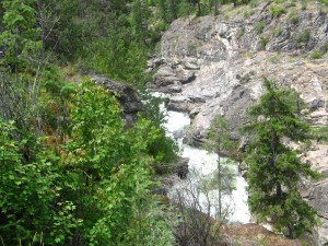 Getting to the Cascade Gorge on the Santa Rosa Trail.