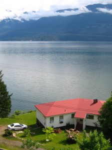 Kootenay Lake view from Ainsworth Hot Springs