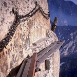 Have you ever wondered what the most dangerous hiking trail in the world could look like?