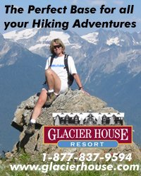 Glaceir House Hiking on Frisby Ridge near Revelstoke BC