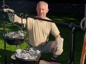 Outdoor Cooking with Gary House