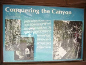 4Some history of the Kettle Valley Railway that ran through here during the early part of the 20th century